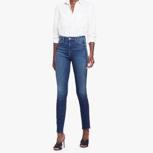 MOTHER high waisted looker denim